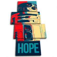 Sci Fi Iconic Film Hope Abstract - 13-6096(00B)-MP04-PO